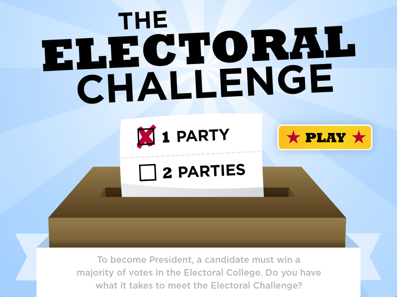 This Site From Scholastic Offers Information For Students Including Election Maps And Games