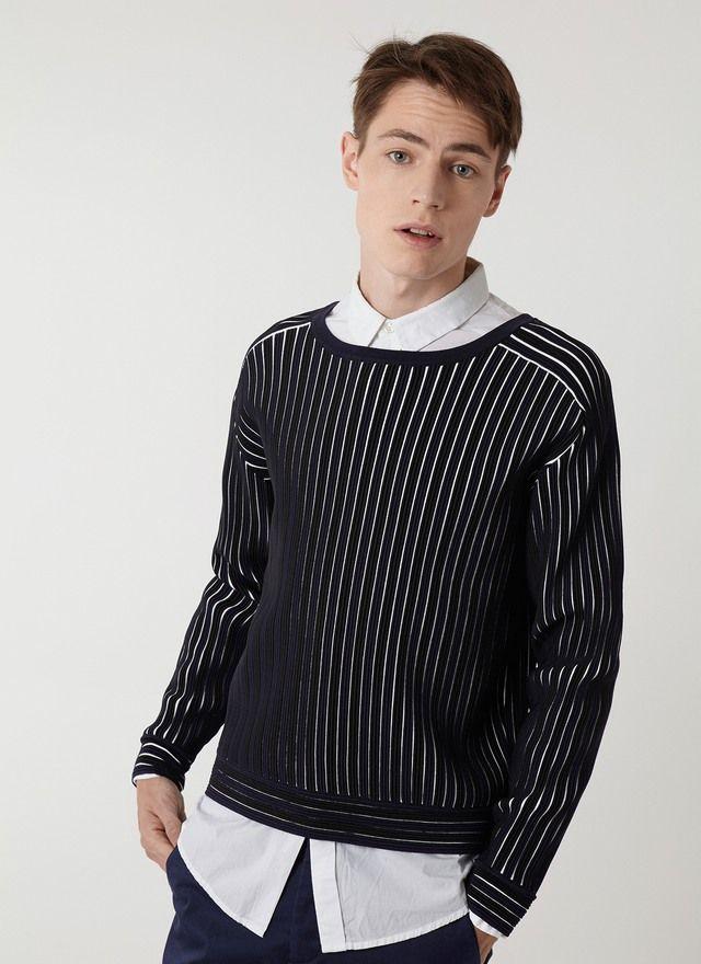 9e513ec82 Jersey de rayas bicolor | U Men's Collection #Umusthave · SS16 ...
