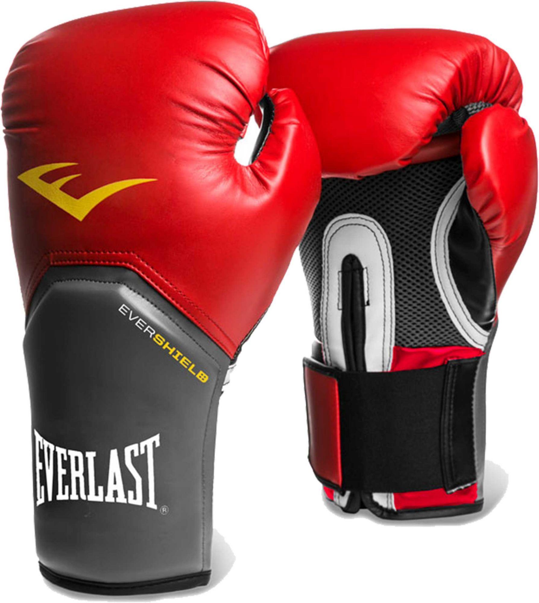 Everlast Pro Style Elite Training Gloves, Red in 2019