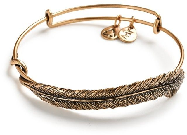 Alex and Ani Plume Bracelet Sterling Silver Gift Boxed