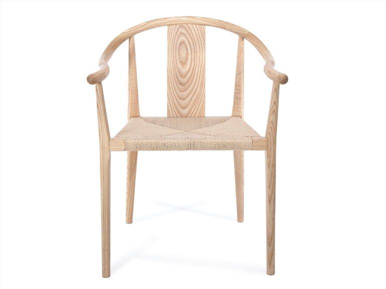 Sedie In Legno Con Braccioli : Sedia in legno massello con braccioli collezione shanghai by norr11