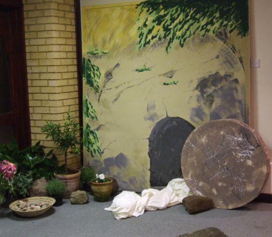 empty tomb of jesus easter basket easter easter play empty tomb. Black Bedroom Furniture Sets. Home Design Ideas