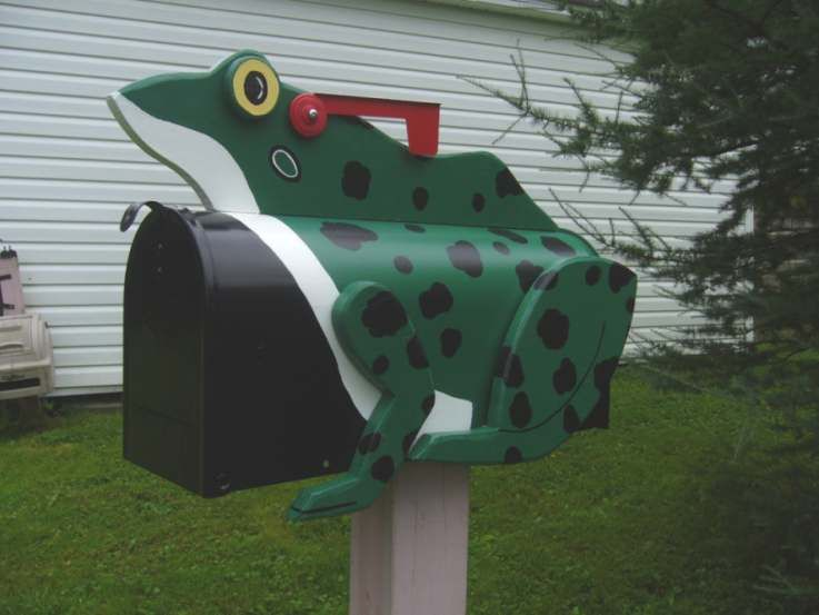 Frog MAILBOX. You are looking for an original gift. Here the ...