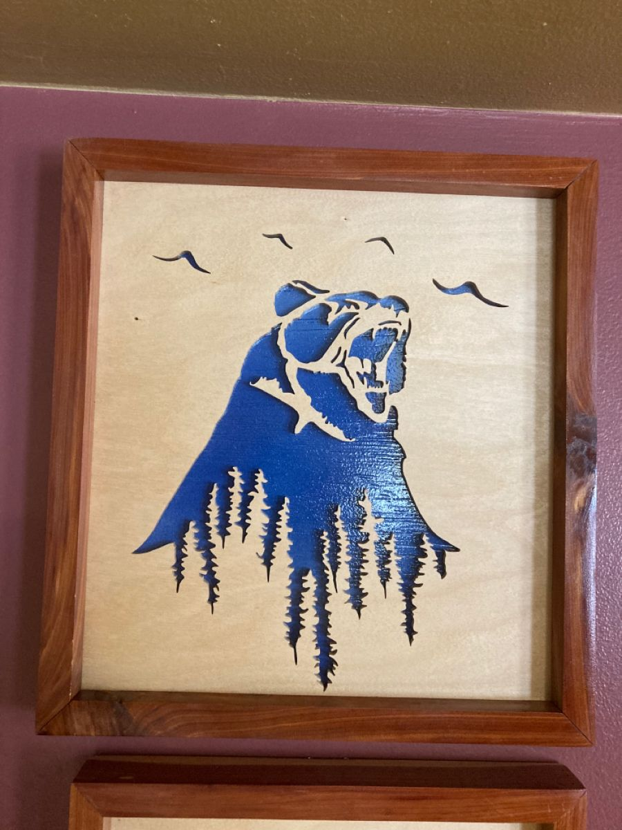 Bear scroll saw picture in 2020 Scroll saw, Pictures