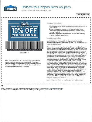TWO(2) Lowes 10% Off Discount--For In Store or Online--Newest Out https://t.co/UI13D23EbP https://t.co/UI13D23EbP