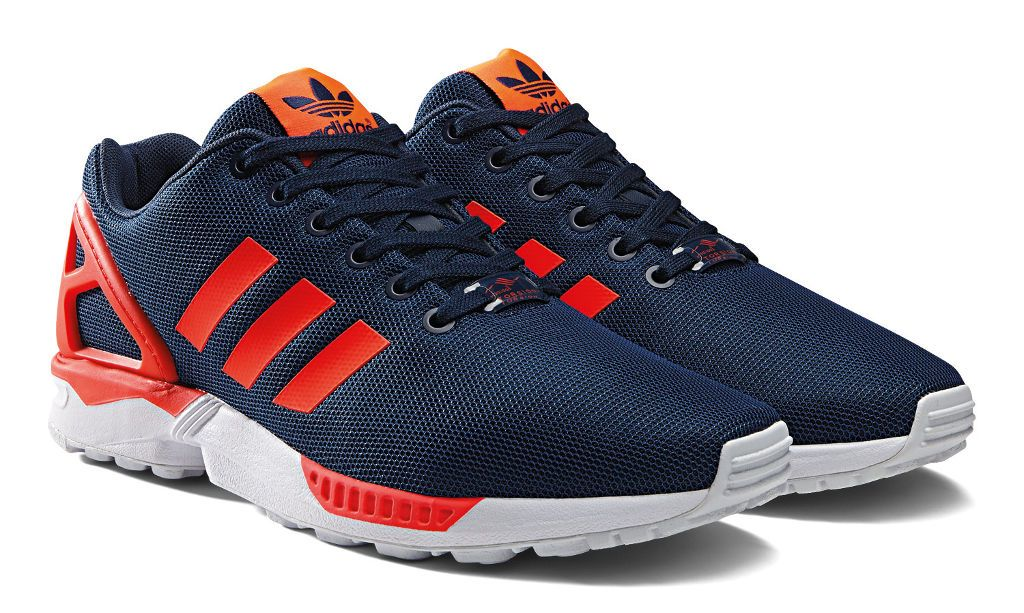 brand new bd356 72e84 adidas ZX Flux Base Pack Navy/Red (6) | ADIDAS ZX ...