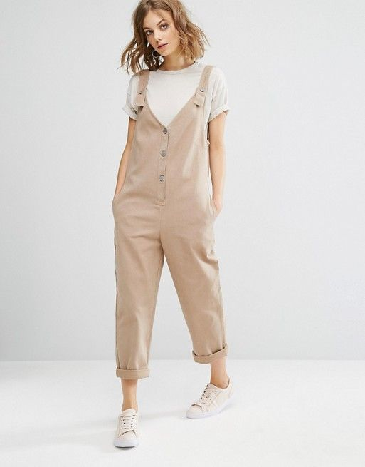 f4183284647 Vale Denim Jumpsuit With Adjustable Strap