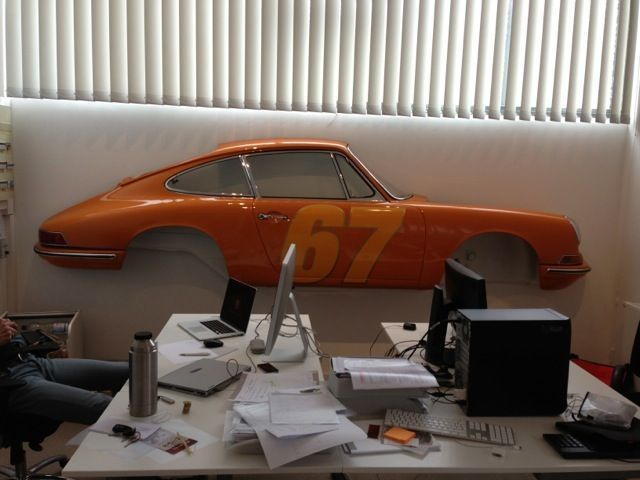 Pin By Phil On Sculpture Porsche Wall Art Half Walls