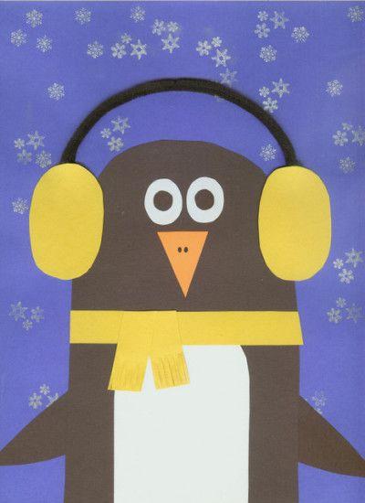 3 PRETTY BLUE EARMUFF SNOWMEN DIECUTS FOR CARDS//CRAFTS