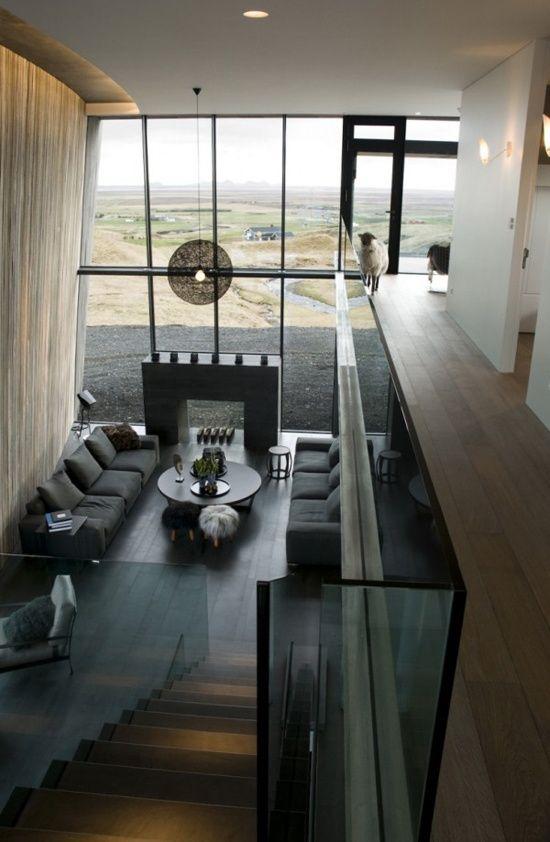 Living Room At Casa G By Gudmundar Jonsson Arkitekikonoir Con