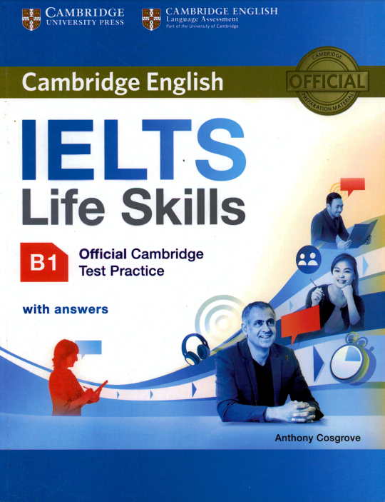 Free Download Cambridge Test Practice B1 for IELTS Life Skills, a