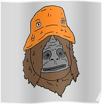 Sassy The Orange Hat Cartoon Tattoos Trippy Cartoon Orange Hats