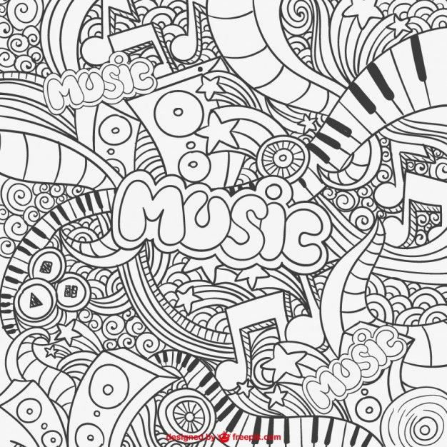 Pin de celιna 🌿 en ↬ ѕĸeтcнιng✏ | Pinterest | Dibujo, Musica y ...