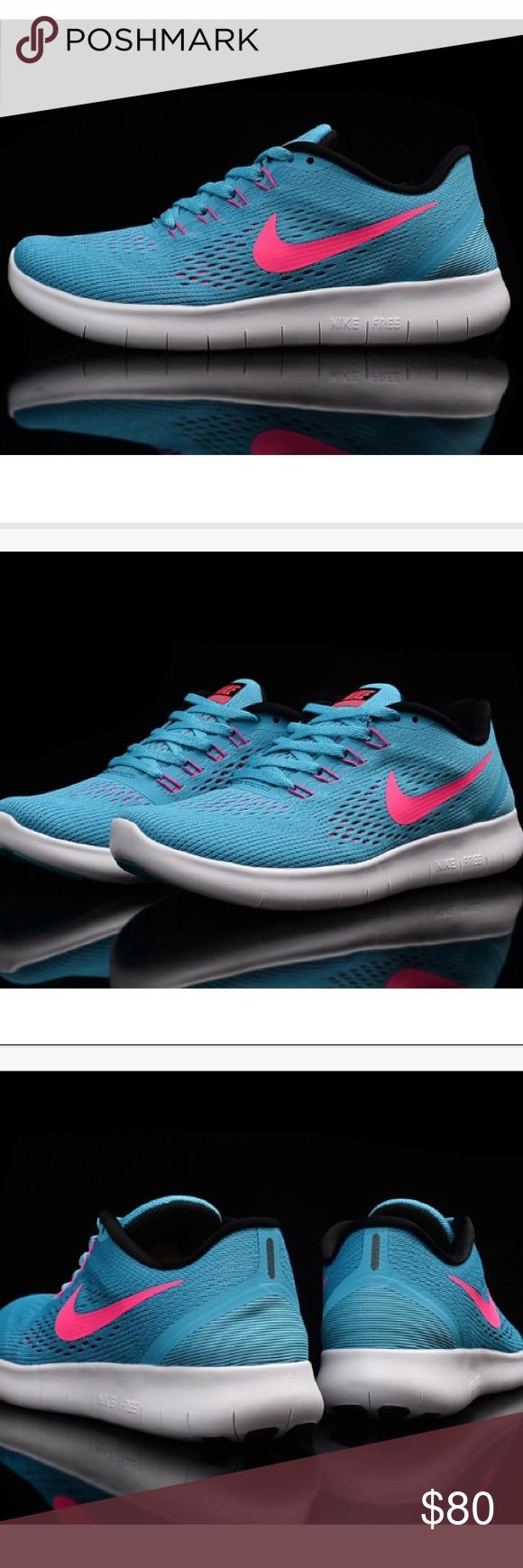 1d6c2843cffc9 Womens Nike Free Rn Womens Nike Free Rn Running Shoe Gamma-blue pink blast  Style Code 831509 401 Nike Shoes Sneakers