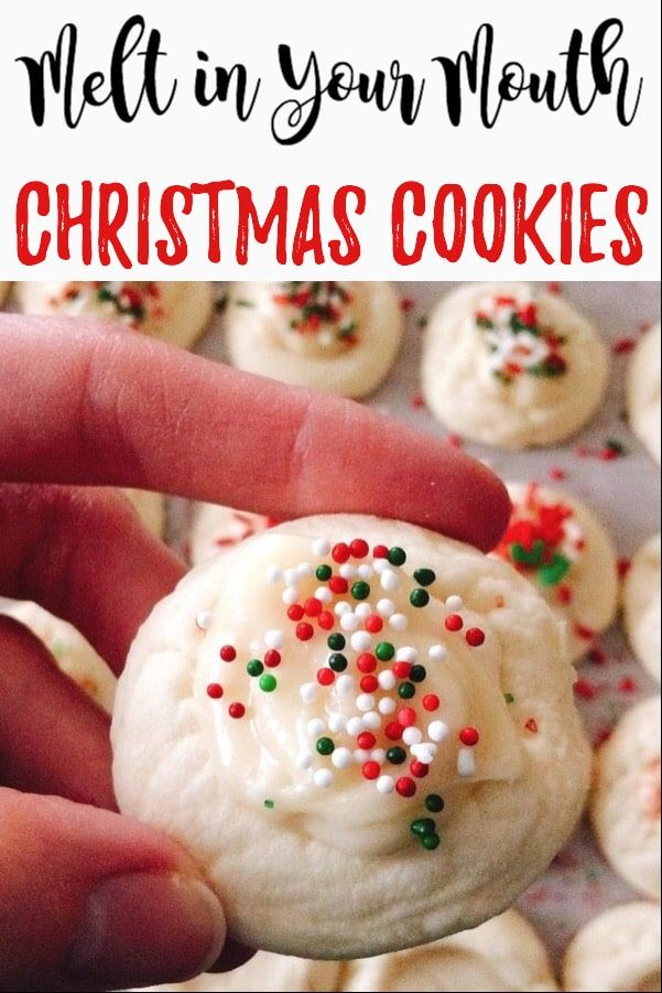 A sweet cookie with a tangy cream cheese icing that melts in your mouth every time you take a bite They might possibly be the best Christmas Cookies ever