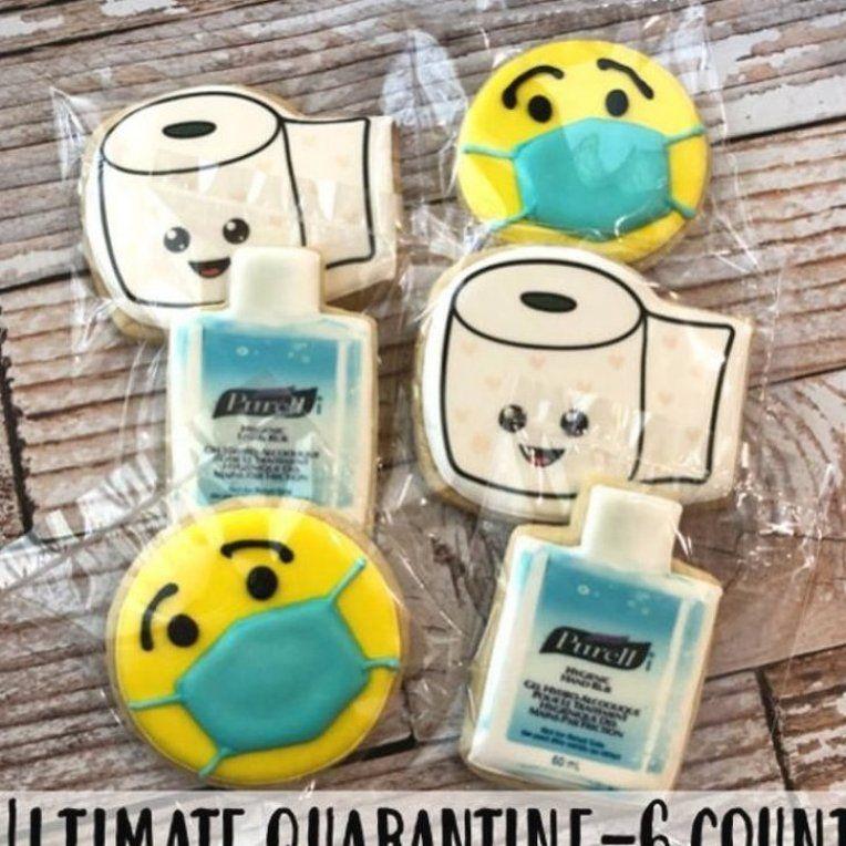 Purell Hand Sanitizer Toilet Paper Smiley Mask Sugar