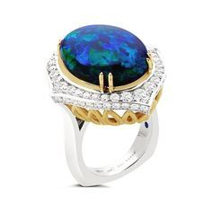Opal - like wearing the Earth on your finger. #opal #opalring #earthtones #playofcolors #finejewelry #elegant #luxurious #octoberbaby #beautifulearth