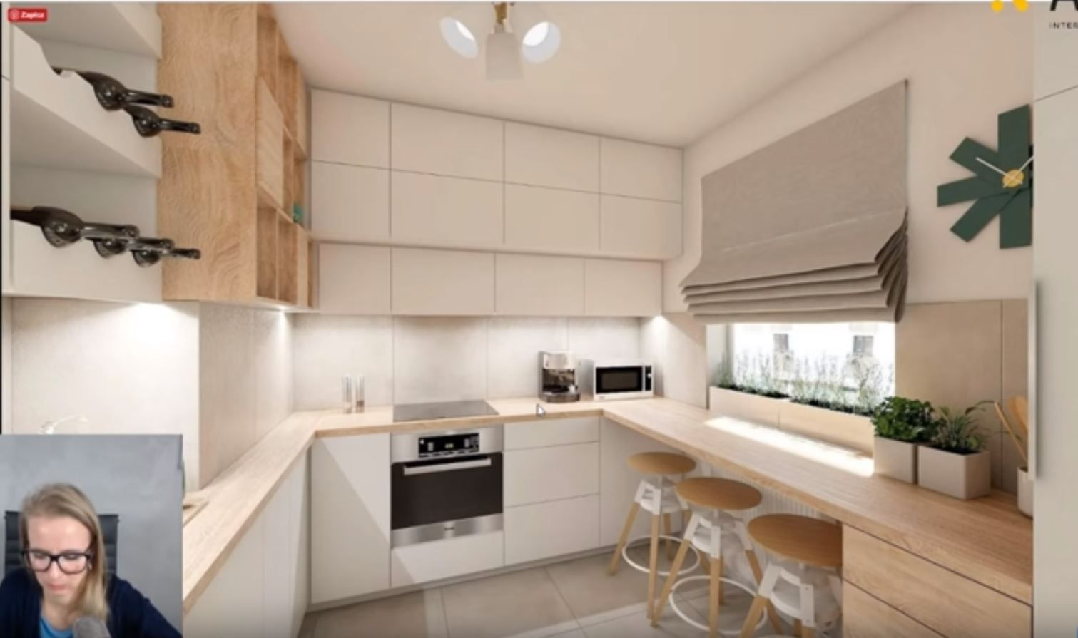 Co Zrobic Jesli Kaloryfer Jest Pod Oknem W Kuchni Kitchen Cabinets Kitchen Home