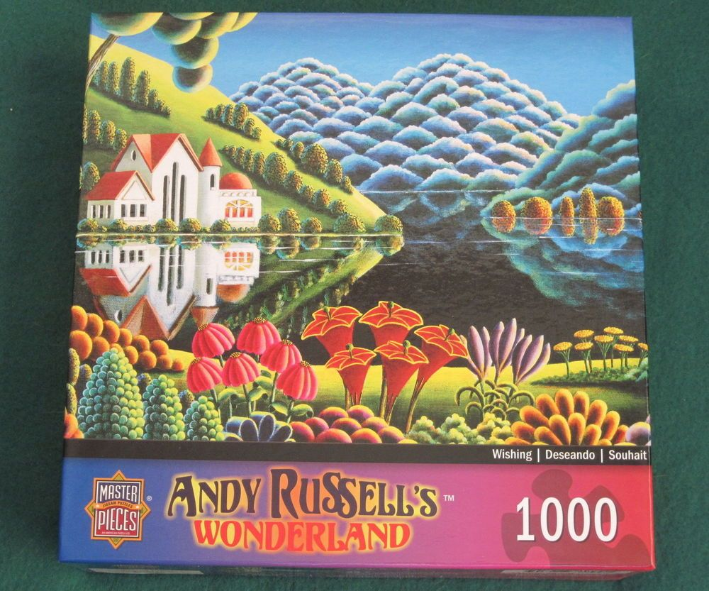 Art by Andy Russell MasterPieces River of Dreams Jigsaw Puzzle 1000-Piece