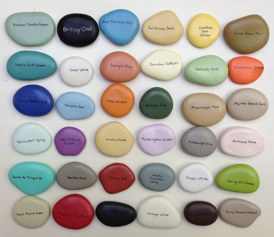CeCe Caldwell's Chalk & Clay Paint Color Chart Available at Humble ...