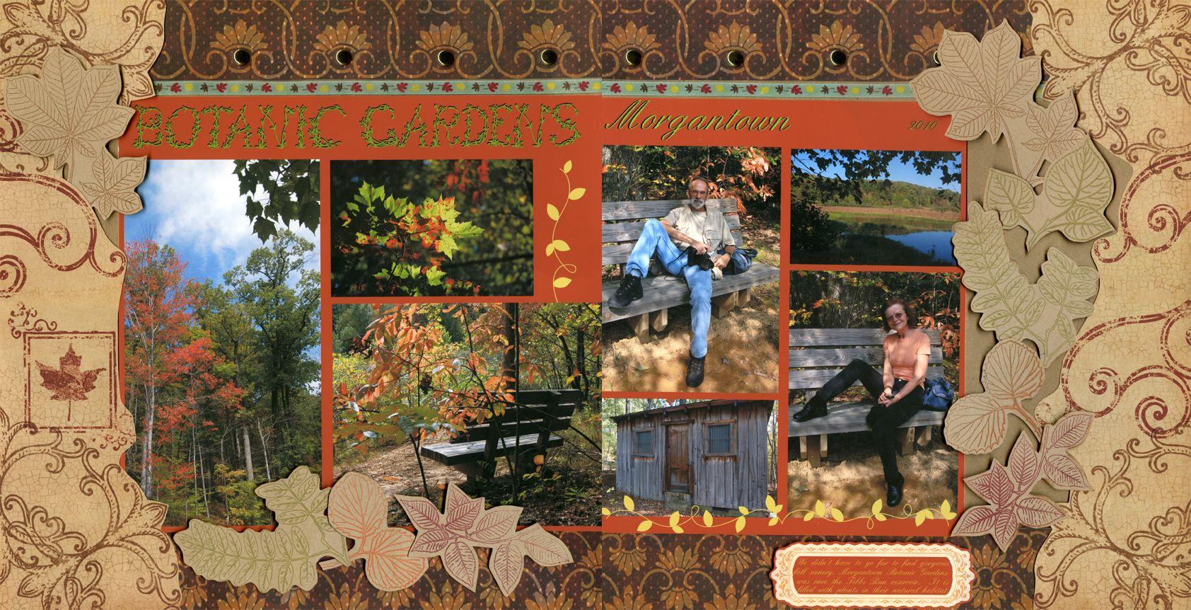 Botanic Gardens Morgantown - Scrapbook.com