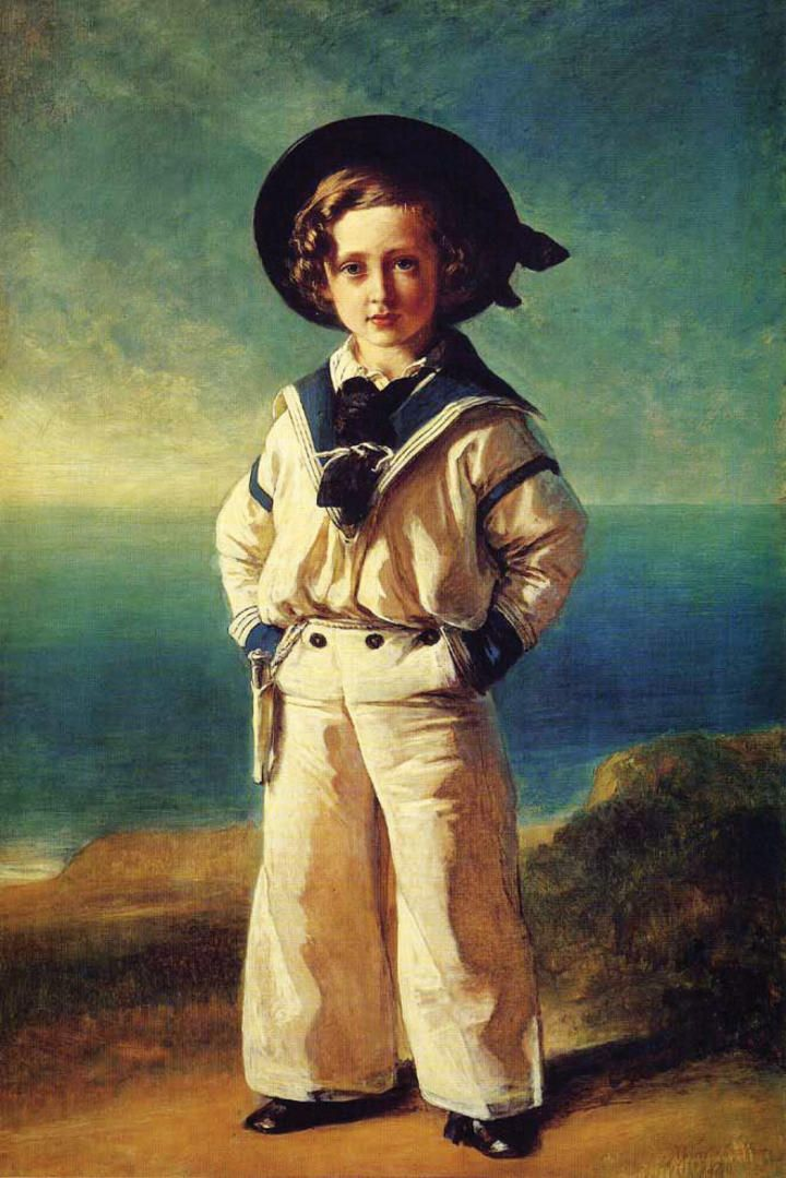 moda infantil siglo xvii
