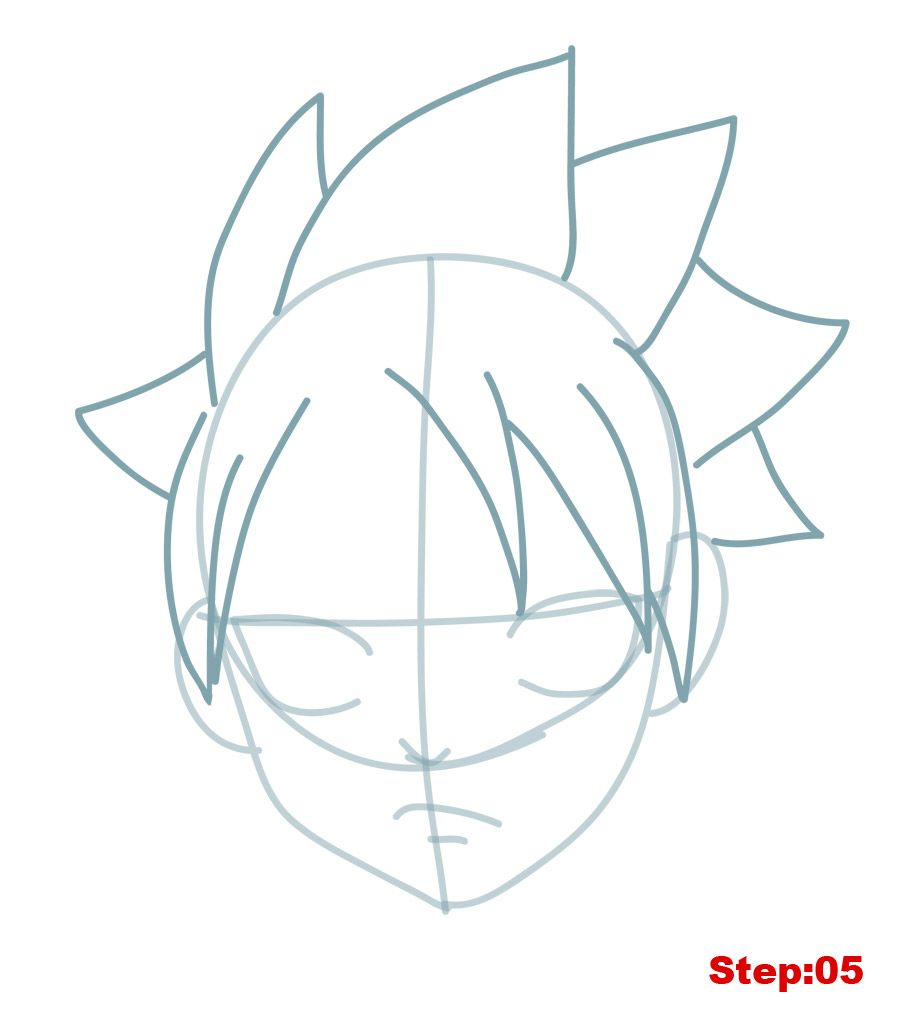 Welcome Back Mangakas Today On How To Draw Manga In 3d Our Drawing Tutorial Is On Natsu Dragneel From Fairy Tail Natsu Is Natsu Fairy Tail Drawing Fairy Tail