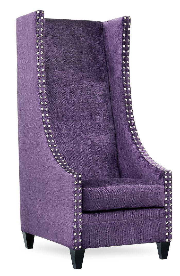 Saige Tall Wingback Chair
