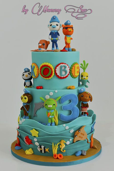 Octonauts Themed Cake