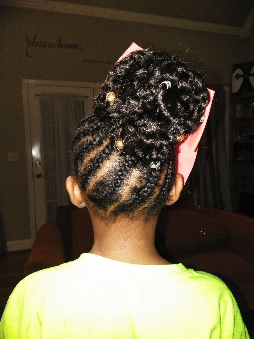 My 8 Year Old Girls Hairstyles Braids Hair Styles Natural Hair
