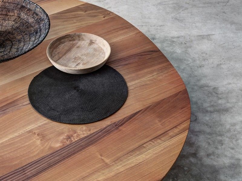 low wooden coffee table for living room sogliofioroni