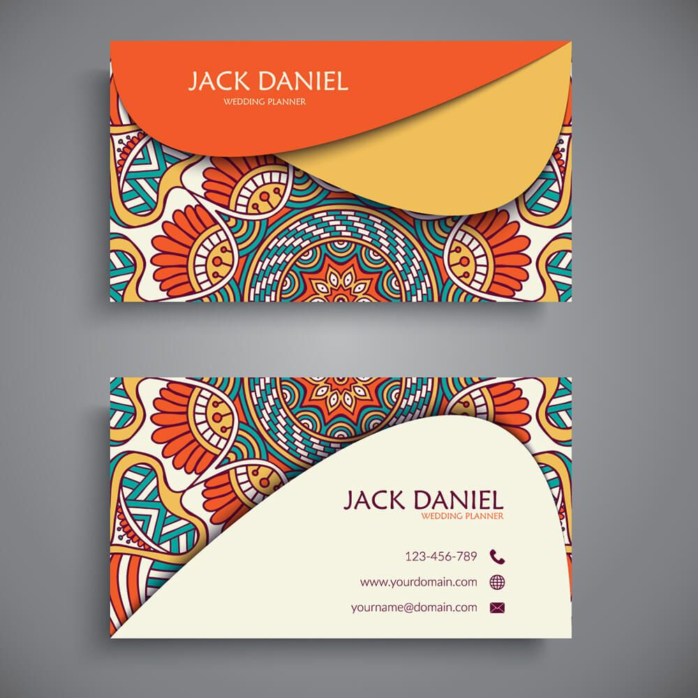 Byteknight Colorful Visiting Card Design Bkdesigns Byteknightdesigns 1carddesig Visiting Card Design Fashion Business Cards Fashion Business Cards Creative