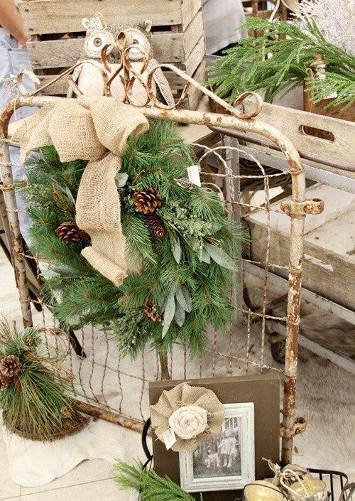 Comfy Rustic Outdoor Christmas Decor Ideas | Christmas | Pinterest ...