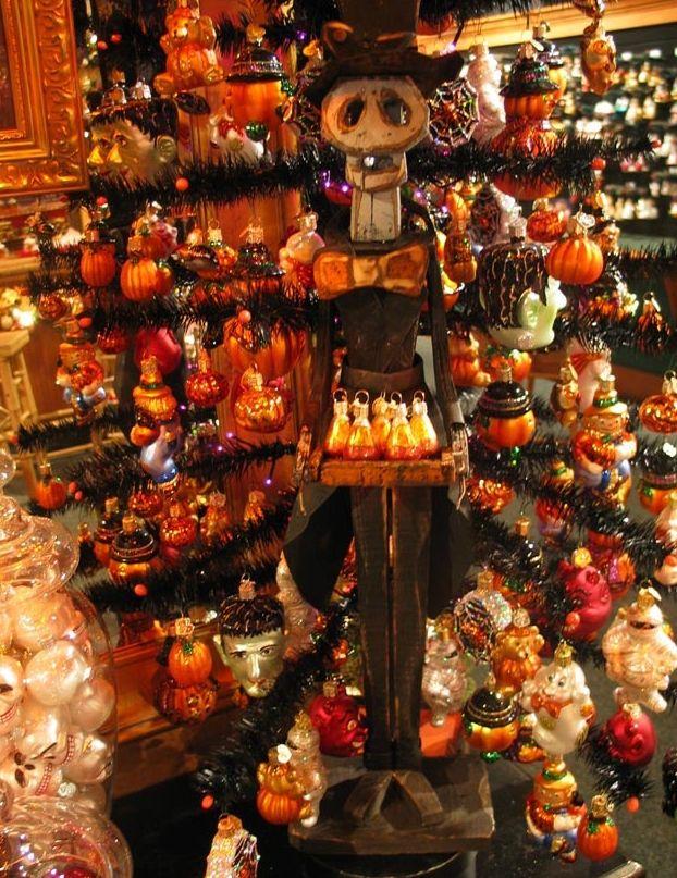 old world christmas showroom halloween ornaments - Halloween Christmas Ornaments