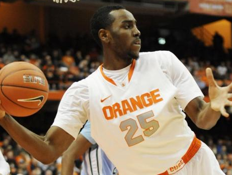 CHRISTMAS! 25, Syracuse Orange Center Rakeem Christmas