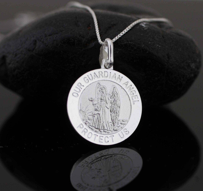 925 Sterling Silver Matte Papa Francesco Medal Pendant