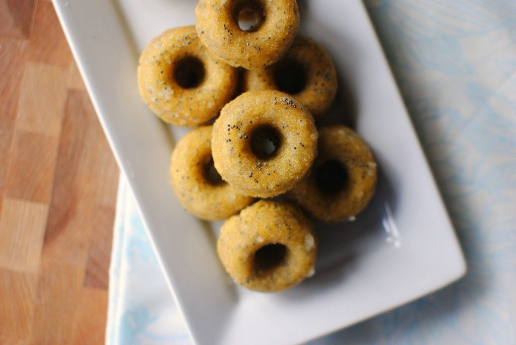 Glazed Almond Poppy Seed Cookie Doughnuts ... Substitute MSPI-friendly margarine for the butter in the glaze