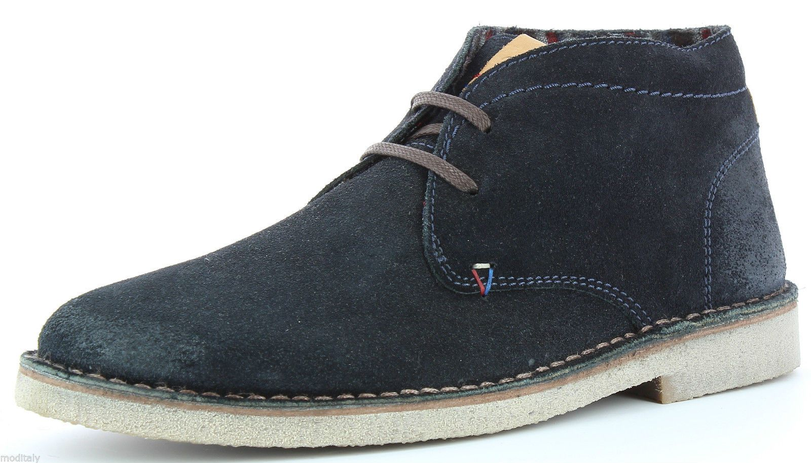 WRANGLER scarpe uomo polacchino CURLISH WM162052 TAUPE,NAVY