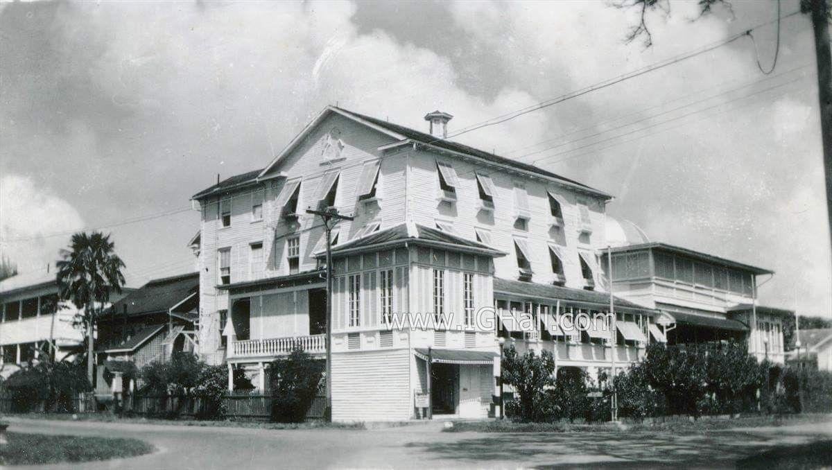 Park Hotel 1950s Guyana Park Hotel Guyanese
