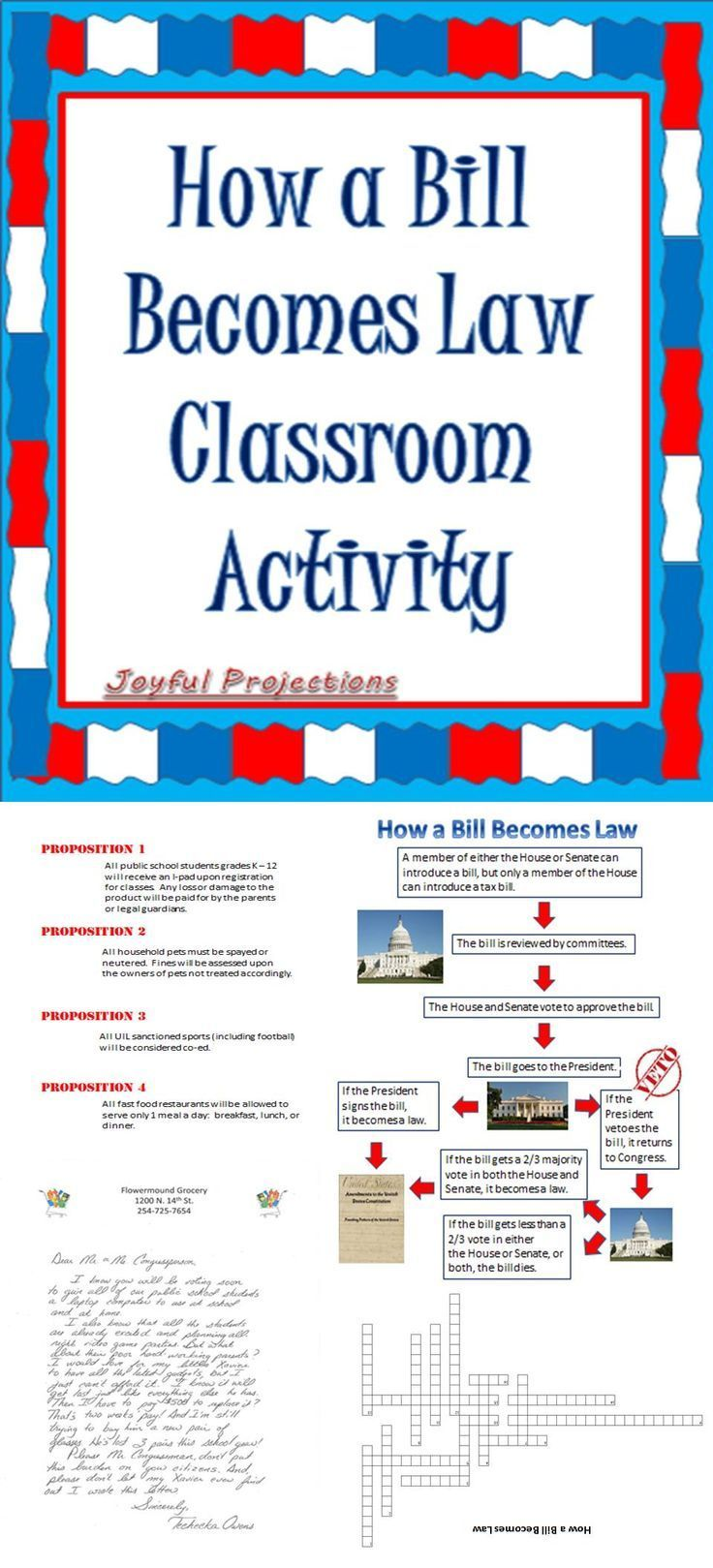 How A Bill Becomes Law A Classroom Simulation 1 Week Plan Social Studies Education Teaching Social Studies Social Studies Resources