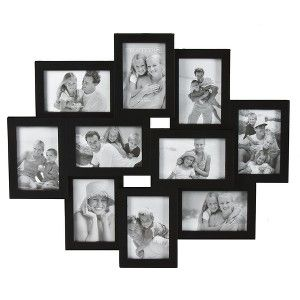10 Opening Picture Frame Black 4x6 Picture Frame Wall Collage Frames Large Collage Picture Frames