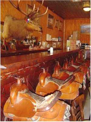 The Saddle Bar At Ost Old Spanish Trail Restaurant In Bandera Tx