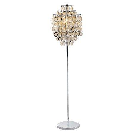 Adesso Shimmy Floor Lamp Silver Target Silver Floor Lamp