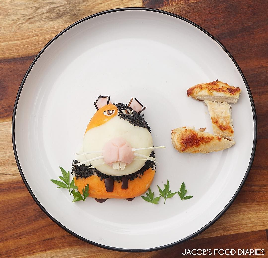 This Mom Creates Amazing Food Art for her Son - Check it out! | momooze