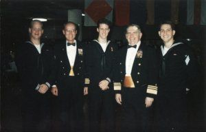 Navy Day Ball 1992 Mike Allen Right And Gary Allison Middle Convincing The Brass To Pose For A Photo Navy Day Photo Poses