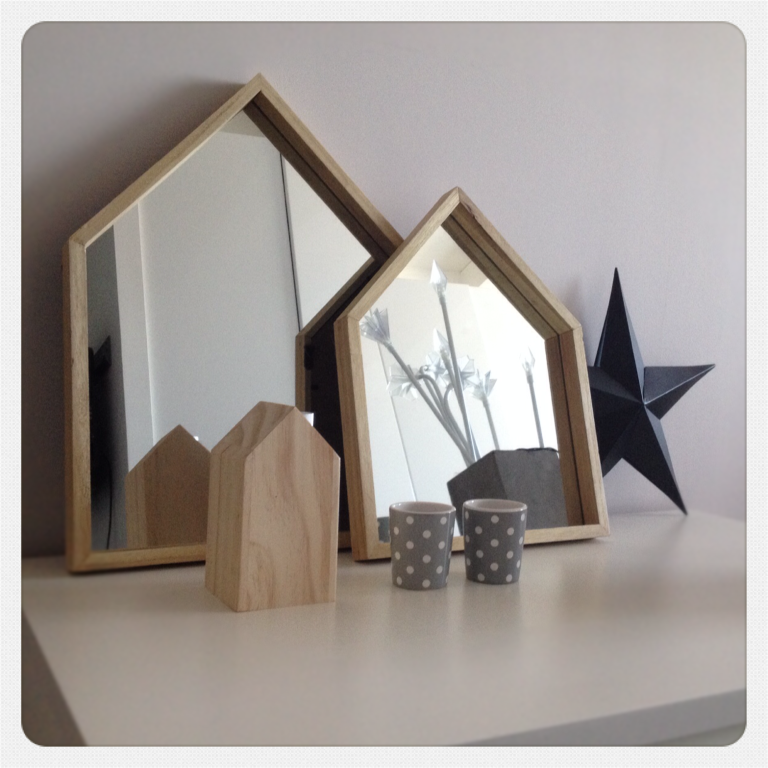Coup de ❤ miroirs maisons de la foirfouille • deco trendy • a t e l i e r •