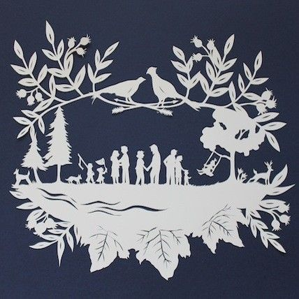 Family Paper Cutting with Jenny Lee Fowler : : Taproot Gathering ...