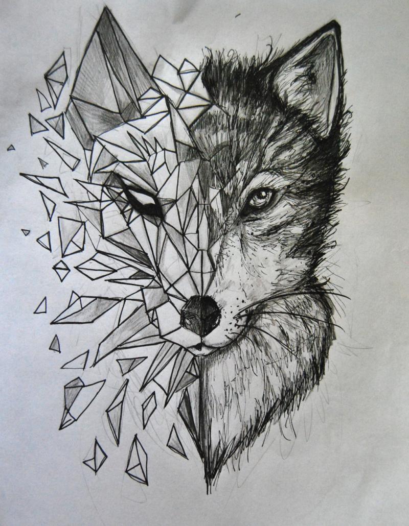 1ad14330e tattoo wolf tattoo motive tattoos frauen tattoos männer tattoo ideen ...