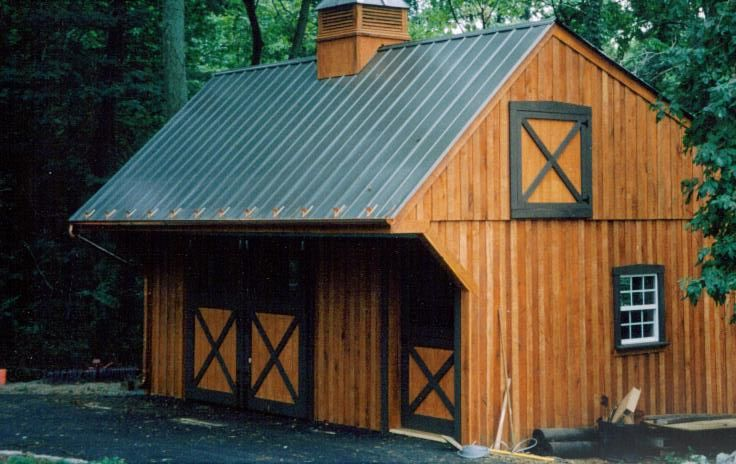 Small barn plans small cattle barn designs http www for Small barn designs
