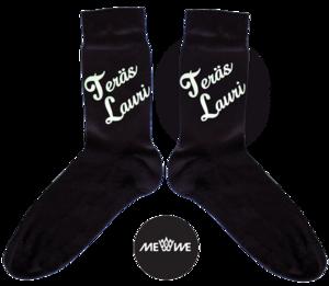 Me We - Kustomoitavaa katumuotia Helsingistä   Isänpäiväsukat, hauskat, Super-Lauri *  Me We Store   Customized Socks, Gift For Dad   #isalle #isanpaiva